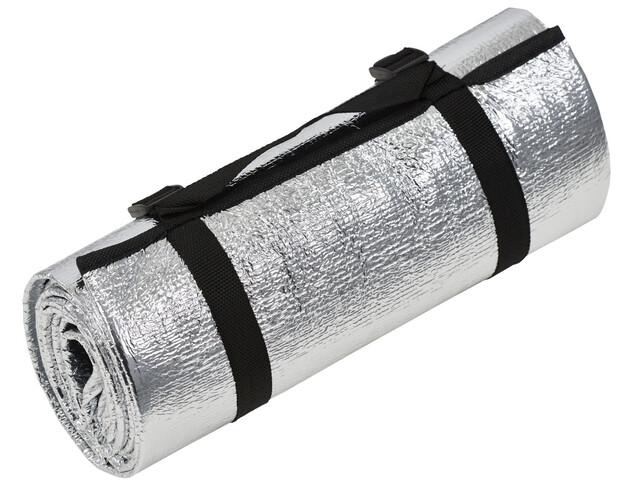 CAMPZ Aluminium Mat Eenpersoons, silver